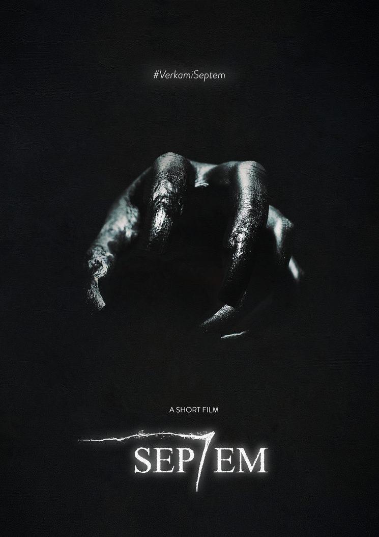 Cartel promocional de Septem para Verkami