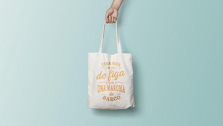 Bossa de tela de regal per a tots els mecenes si arribem a 1200€!