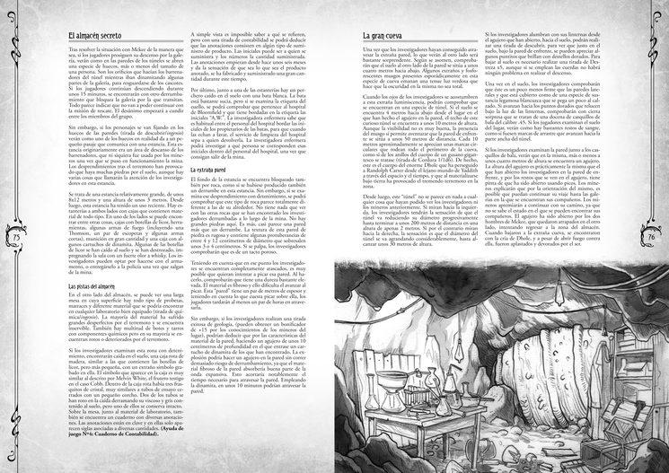 Diseño y textos provisionales