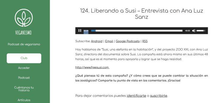 ÚLTIMO DÍA DE CAMPAÑA y Podcast en Veganismo.Org
