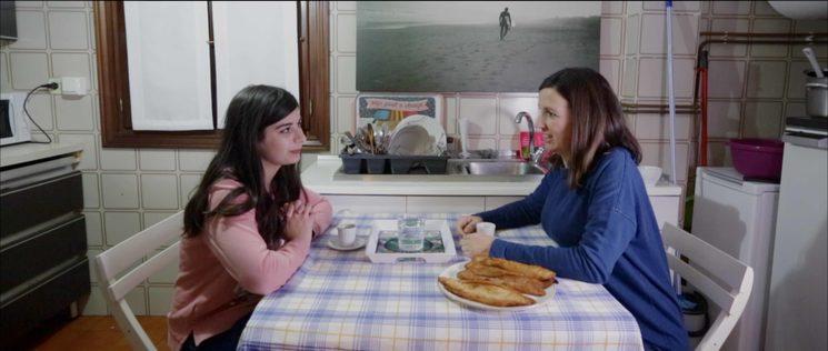 Protagonistak: Ola Mobayed (Siriako errefuxiatua) eta Agate Burgaña (Hotz Zarautz)