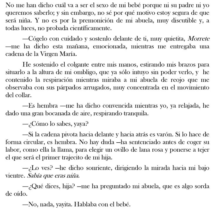 Extracto de la novela