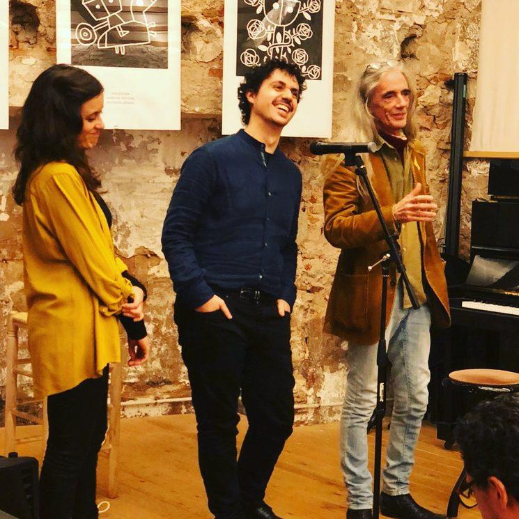 Presentació a la Llibreria Calders, 15 de desembre.