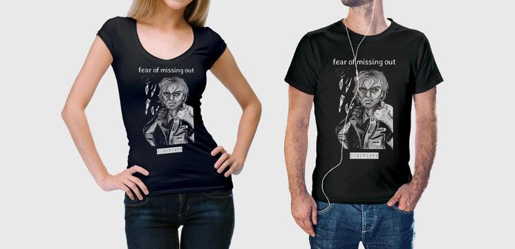 T-shirt Reyes design