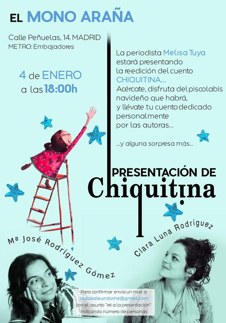 9d8b3d42cd PRESENTACIÓN DE CHIQUITINA EN MADRID — Chiquitina