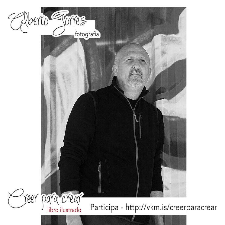 Alberto Torres, a la fotografía
