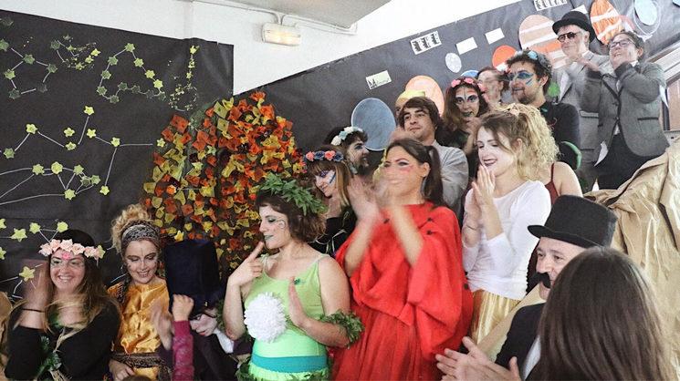La majoria del casting i organitzadors de la primera edició del Maxi Mec-Mec.