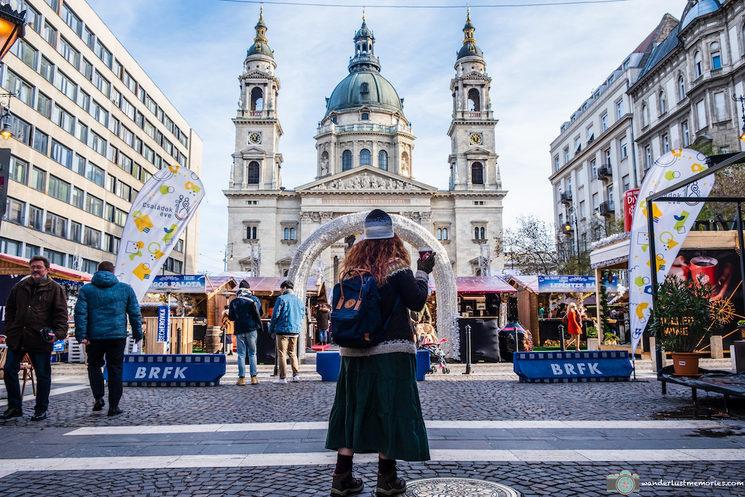 El centro de Budapest