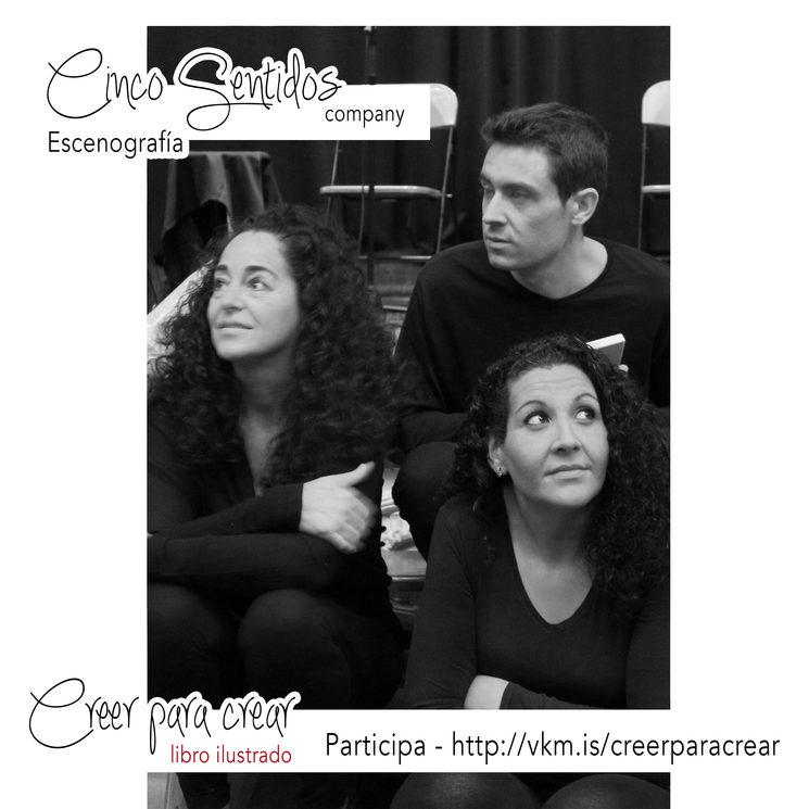 Cinco Sentidos Company, con Pilar, Estefania y Rafa
