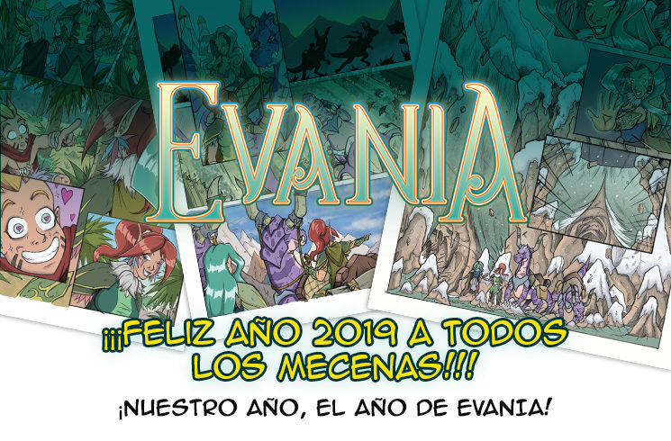 ¡Feliz año nuevo a todos los mecenas!