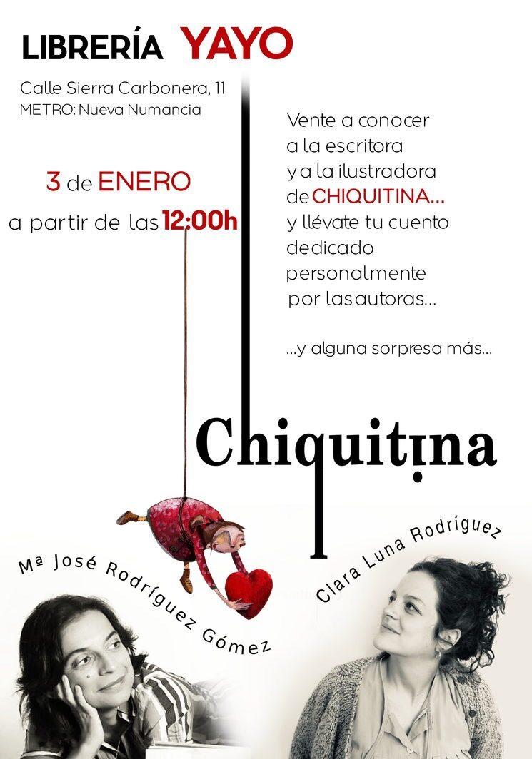 76bf68233e HOY FIRMA DE CHIQUITINA EN LA LIBRERÍA YAYO — Chiquitina