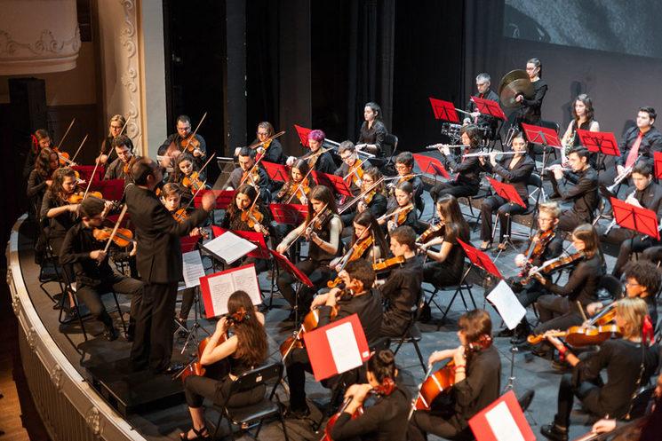 Imagen de la orquesta
