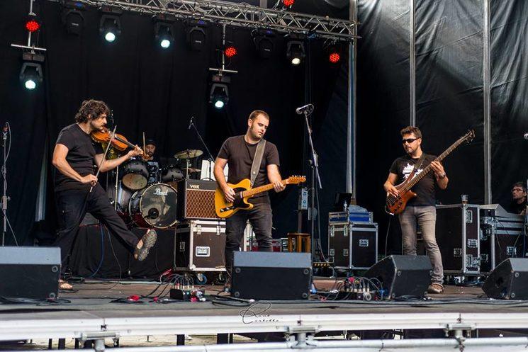 Con la banda en el Pirenostrum de 2018