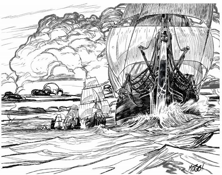 La flota inglesa de Vernon