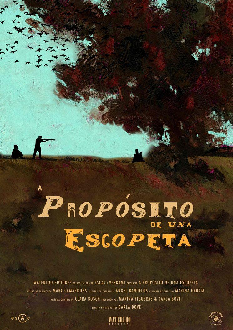 """Poster """"A Propósito de una Escopeta"""""""