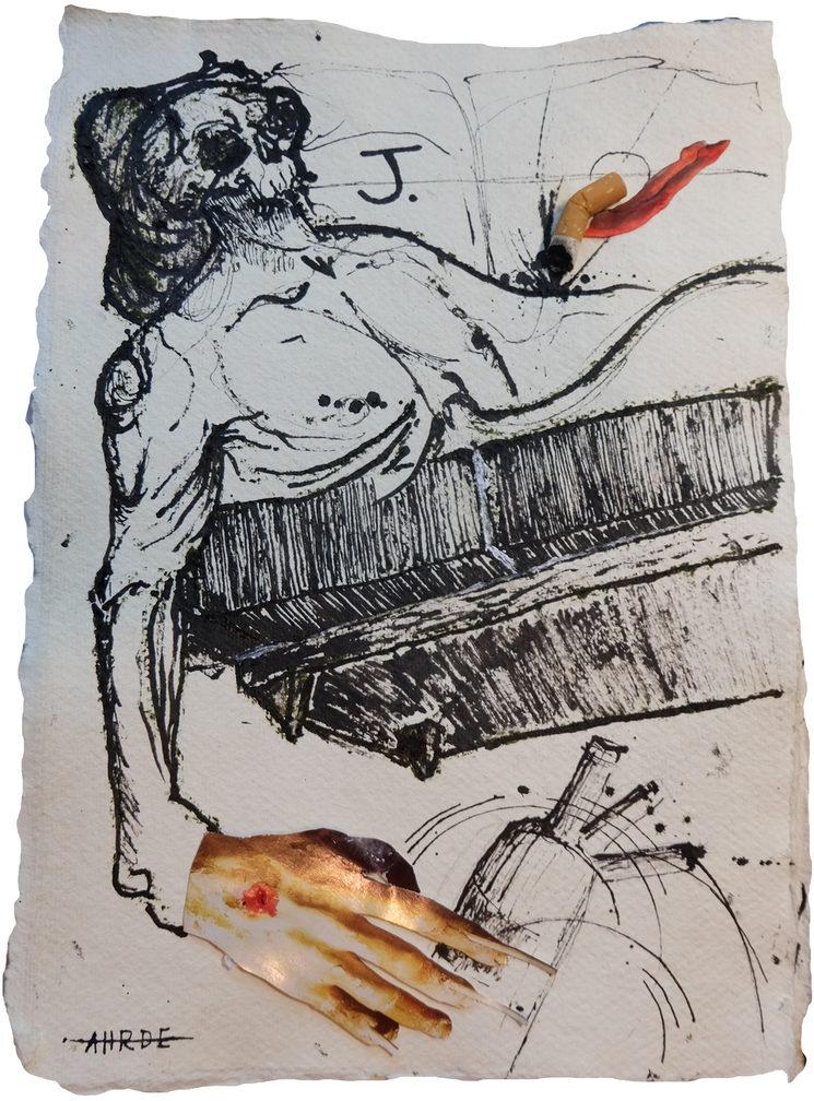 Ilustración de la película, por Andrés Hidalgo Ruiz (_ahrde_).