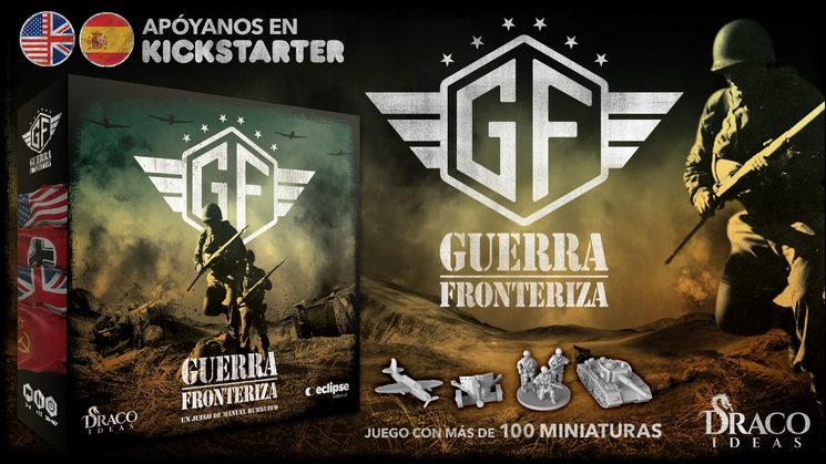 """El juego """"Guerra Fronteriza"""" en Kickstarter"""