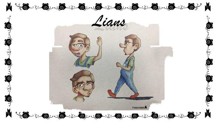 Lians model sheet