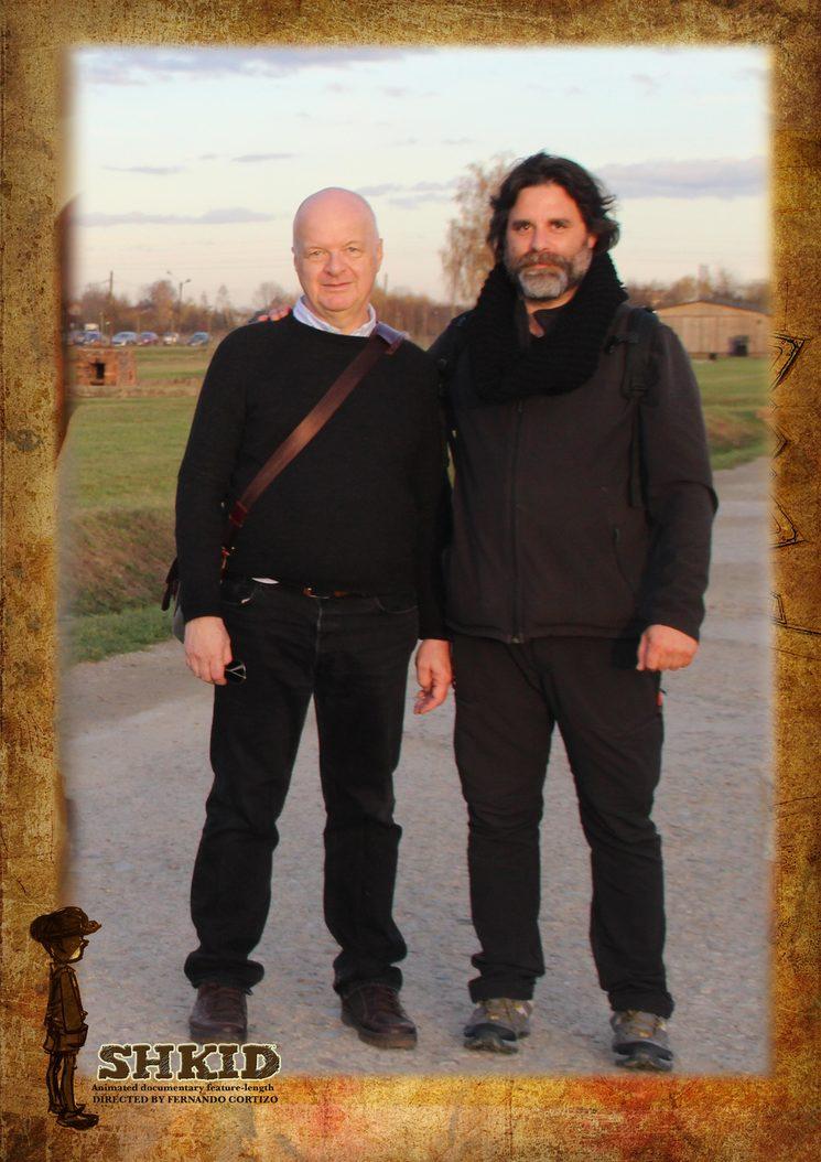 Entrevista a Robert Jan Van Pelt en Auschwitz