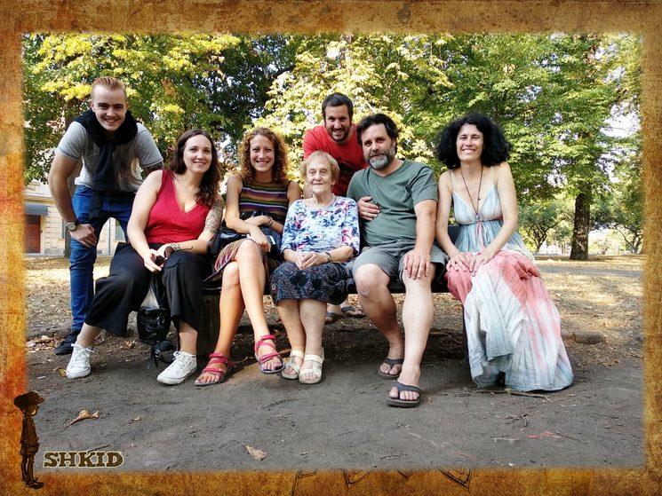 visita a Terezín con Doris Grodnadovicová