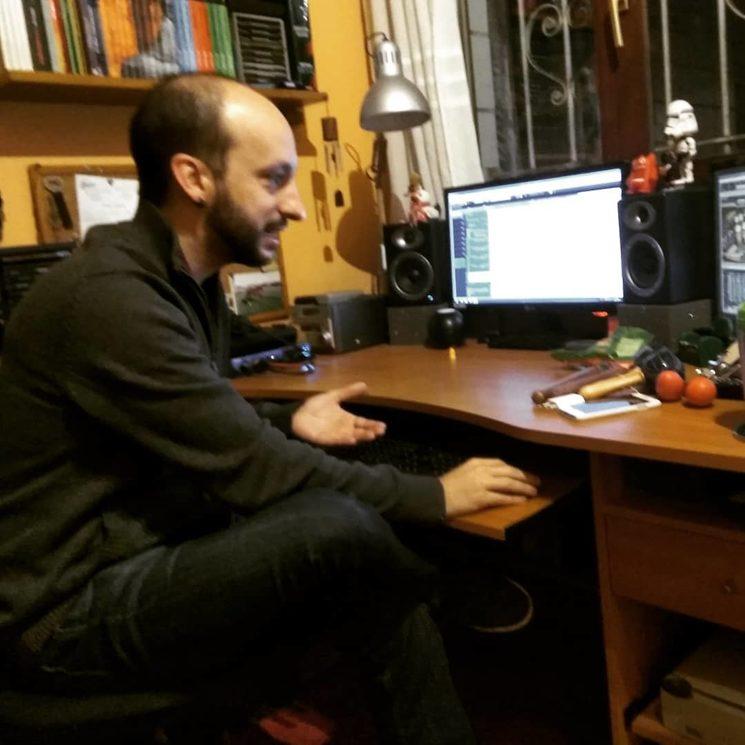 ¡Nuestro gran ingeniero de sonido!