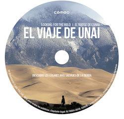 El DVD de la película documental El viaje de Unai (Andoni Canela, 2016)