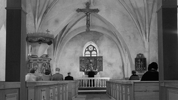 Referencia visual tanatorio/ iglesia