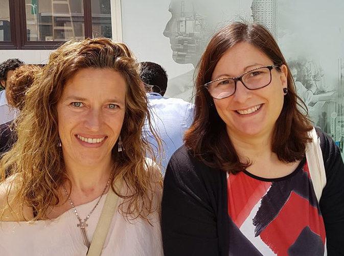 Marie Anne y Gemma