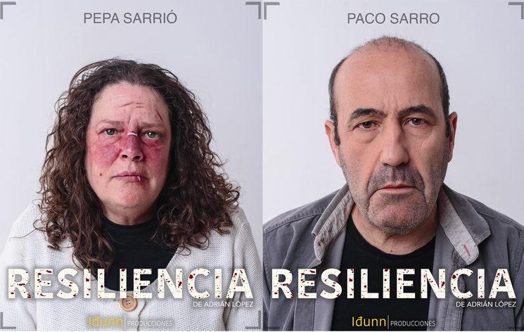 Pepa Sarrió y Paco Sarro en Resiliencia.