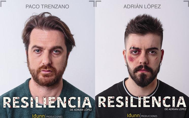 Paco Trenzano y Adrián López en Resiliencia.
