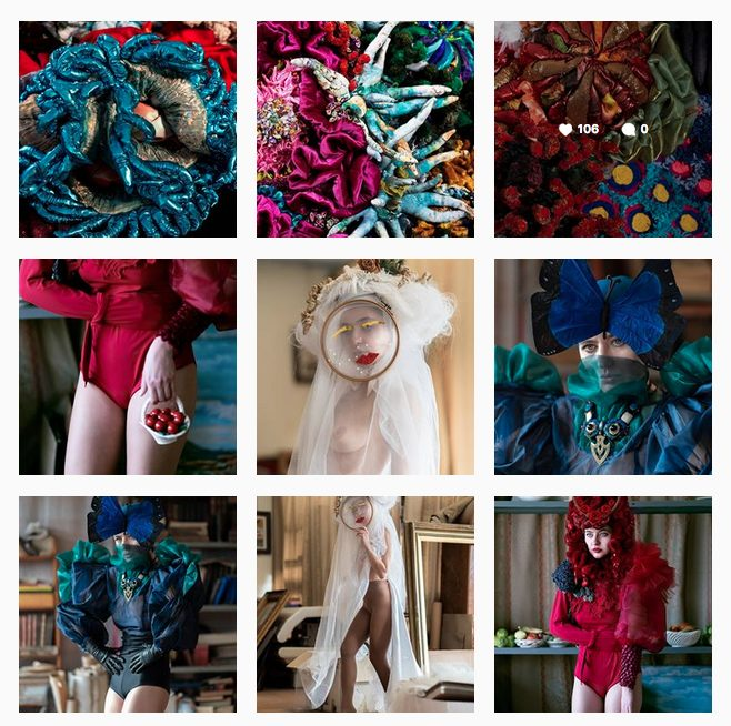 These are some of the designs of our dear Paola Idrontino