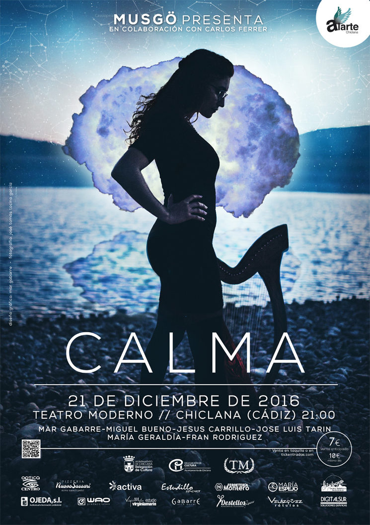 The poster of the show Calma