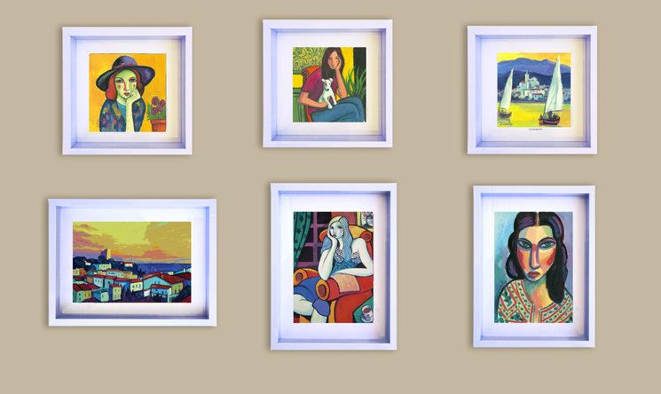 Algunos ejemplos de los Mini -cuadros