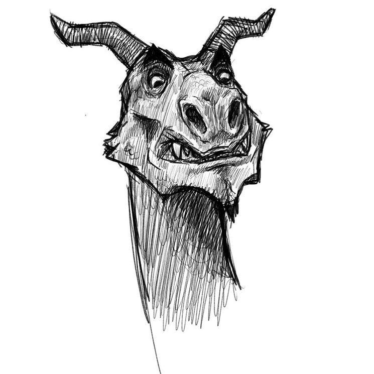 """Ilustración perteneciente a la aventura """"Dragones y mazorcas"""" de Natxo Maté Puig"""