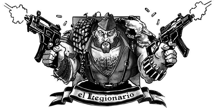 """""""El Legionario"""", por Imanol Etxeberría"""