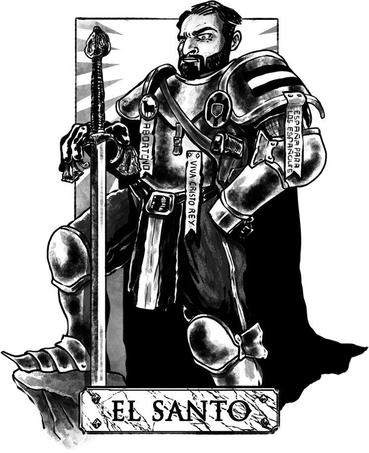 """""""El Santo"""" Baltasar, por Imanol Etxeberría"""