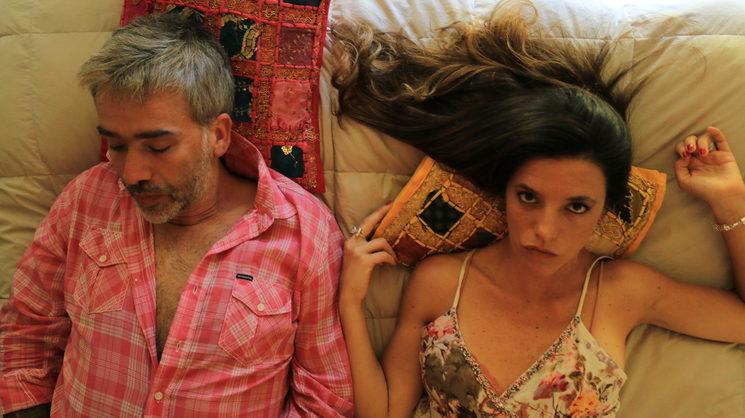 "Picture of the film, Paulo Capobianco as ""Esteban""<br/> Florence Lorenzo as ""Natalia"""