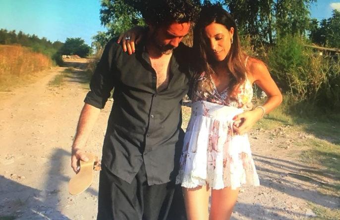 "Frame of the film, Gonzalo Velasco and Florencia Lorenzo as ""Daniel and Natalia"""