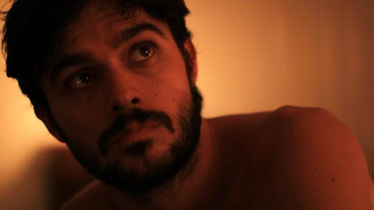 "Frame of the film, Ull Galindez as ""Jacobo"""