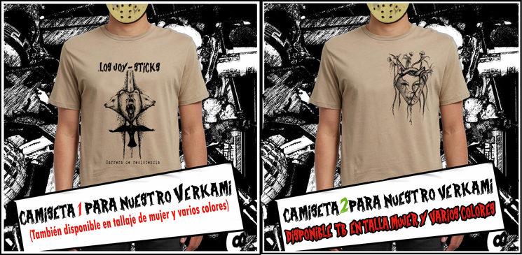 Camisetas (disponibles en verde militar gris y alguno mas)