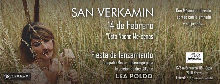 El jueves 14 de febrero celebramos San Verkamín