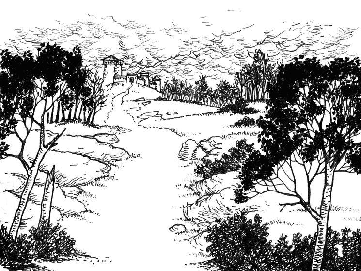 Las Marcas de Polovenia, tierra de jinetes y guerra incesante.
