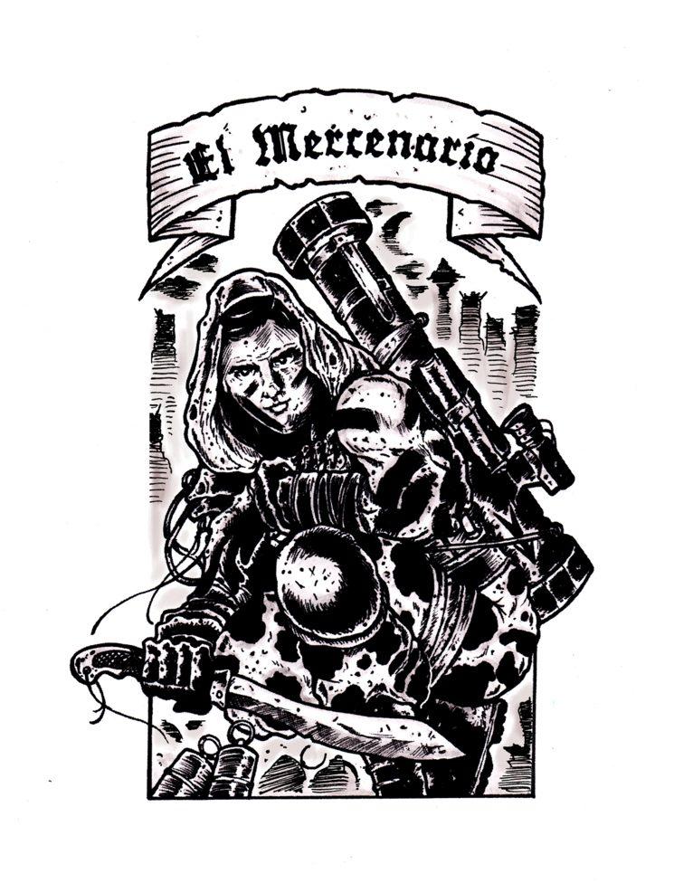 """""""El Mercenario"""" Ribera, por Penny Melgarejo"""