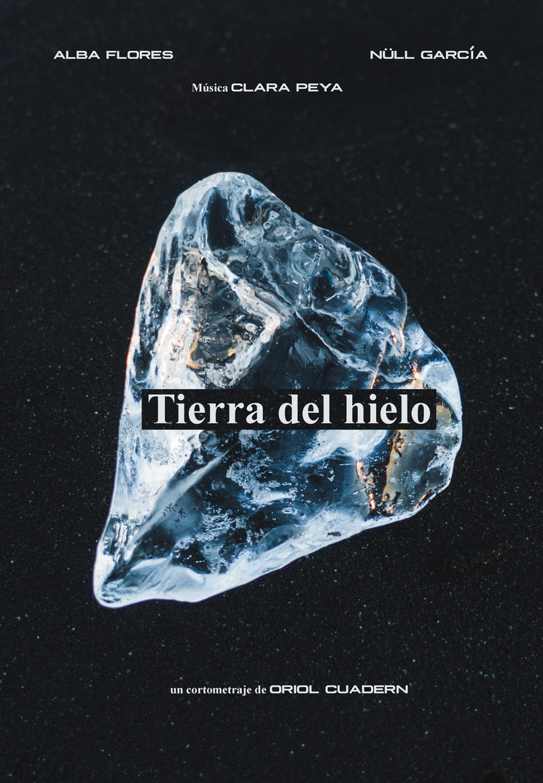 """Cartel """"Tierra del hielo"""""""