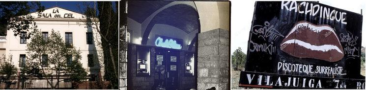 La Sala Del Cel, el Club Blau, Le Rachdingue