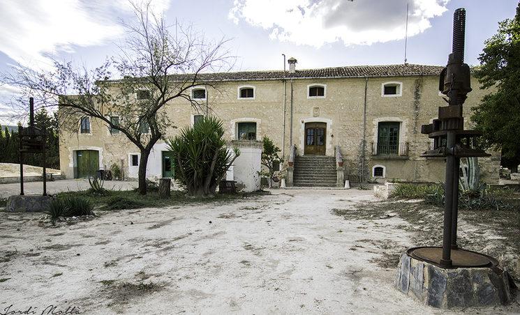 façana principal de la masia