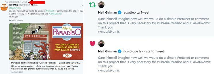Gail Simone - Neil Gaiman