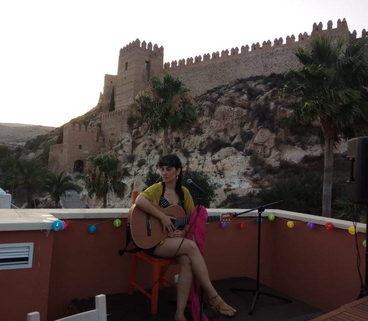 Foto hecha por Inma Barón. Almeria, verano 2018