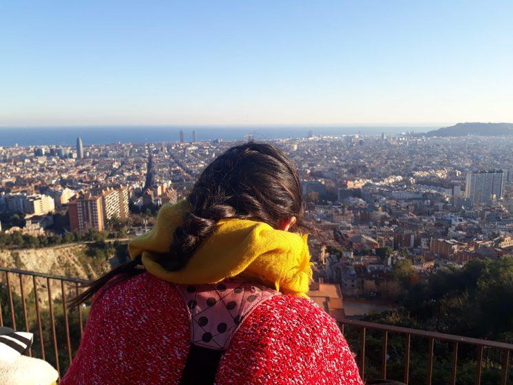 Foto hecha por Juana. Enero de 2019, Barcelona