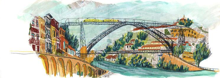OPCIÓN #1. Ponte Dom Luis. PORTO